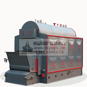 DZL horizontal coal-fired (biomass) chain steam boiler
