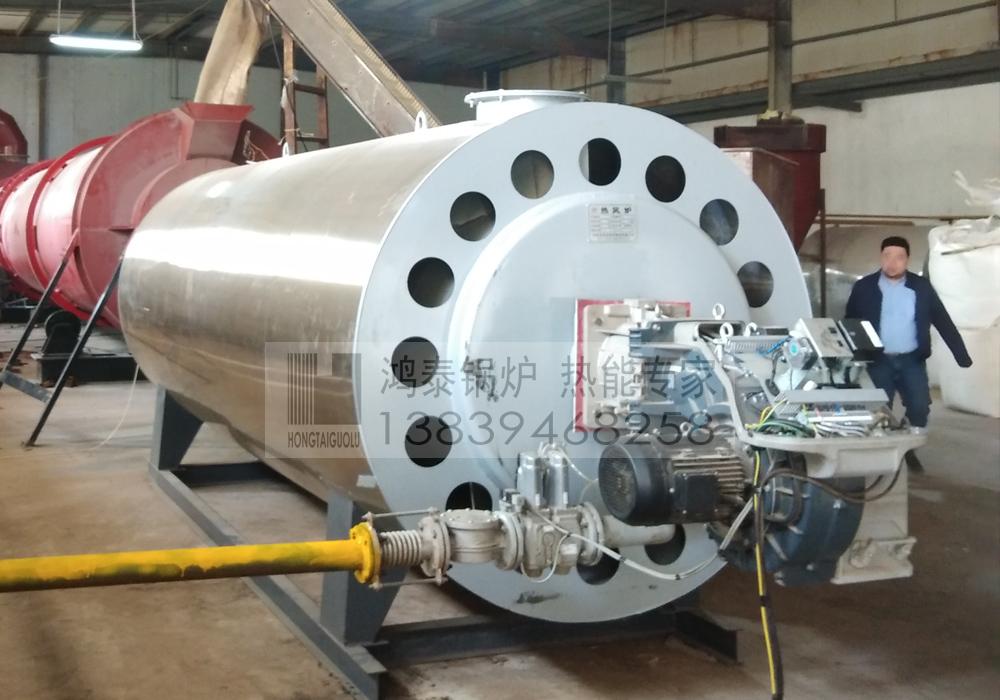 混合风燃油气热风炉
